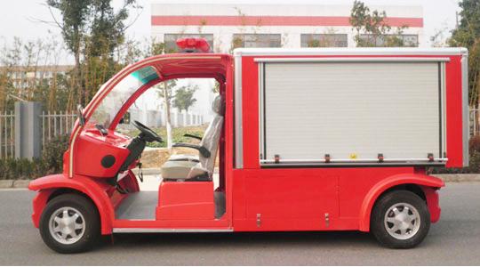 1吨水罐电动消防车