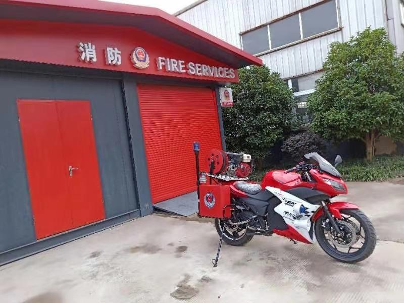 二轮消防摩托车